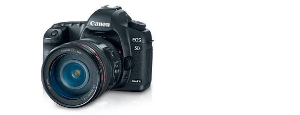 Canon 5D Mark II + 204-105mm Lens