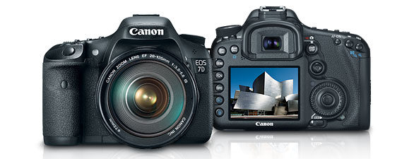 Canon 7D Digital SLR