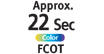 FCOT Approx 22 seconds color