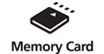 Memory Card Slots : Print from compatible memory cards - The memory card slot lets you print photos direct.  No computer needed.