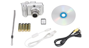 PowerShot A630 Kit Contents