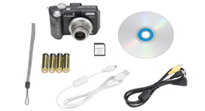 PowerShot A640 Kit Contents