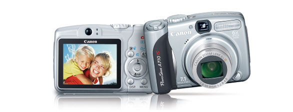 Canon A710 IS