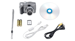 PowerShot A710 IS Kit Contents