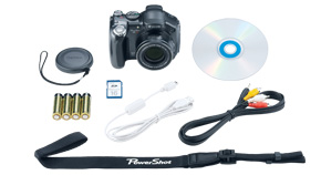 PowerShot S3 IS Kit Contents
