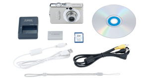 PowerShot SD600 Kit Contents