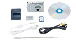 PowerShot SD630 Kit Contents