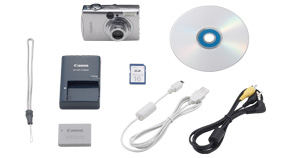 PowerShot SD800 IS Kit Contents