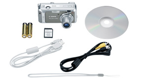 PowerShot A460 Kit Contents