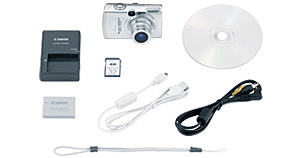 PowerShot SD850 IS Kit Contents