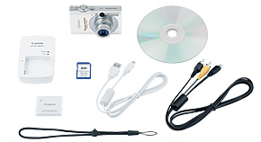 PowerShot SD770 IS Kit Contents