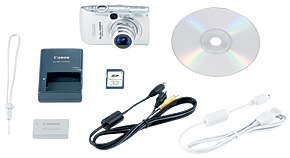 PowerShot SD890 IS Kit Contents