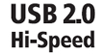USB 2.0 Hi-Speed : Faster Data - The USB 2.0 interface enables the fastest possible image transfers and scanning speeds.