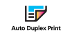Auto Duplex Print : Built-in Auto Duplex printing capability is compatible with photo paper as well as plain paper feeding from both Rear Tray and Cassette.