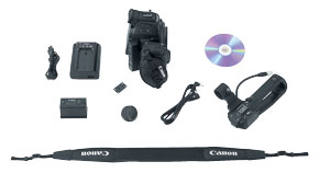 EOS C100 Box Contents