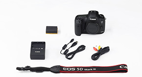 EOS 5D Mark III Kit Contents