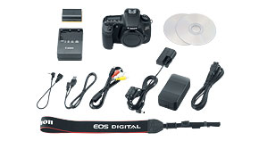 EOS 60Da Kit Contents
