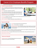 Canon U.S.A. Employee Benefits Program