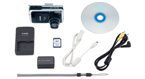 PowerShot S80 Kit Contents