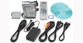 The Canon Optura 300 Kit - Item Code: 9048A001