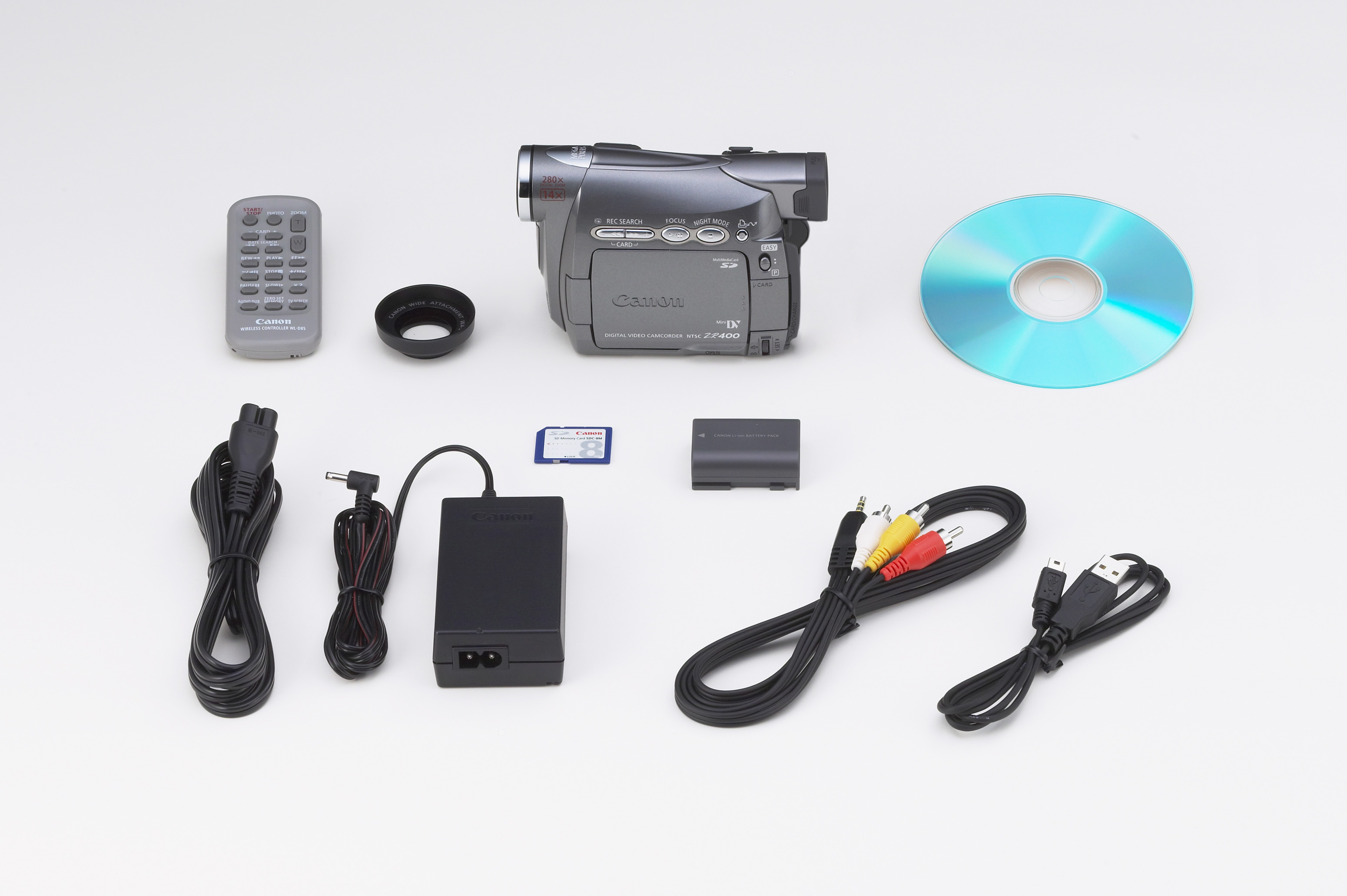 ZR400 Kit Contents