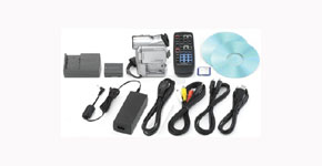 The Canon Elura 50 Kit - Item Code: 8713A001