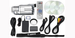 The Canon Optura Xi Kit - Item Code: 9000A001