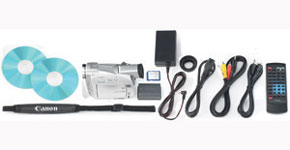 The Canon ZR65MC Kit - Item Code: 8428A001