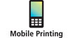 Print directly to your wireless printer from select mobile phones : Print directly to your wireless printer from your iphone