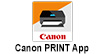 Canon Print App : WITH THE CANON PRINT APP, YOU CAN PRINT DOCUMENTS DIRECTLY FROM ONLINE SERVICES, SUCH AS MICROSOFT ONEDRIVE®, DROPBOX®, TWITTER® AND GOOGLE DRIVE.™