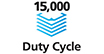15,000 page duty cycle