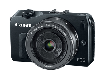 Canon EOS M - Front View