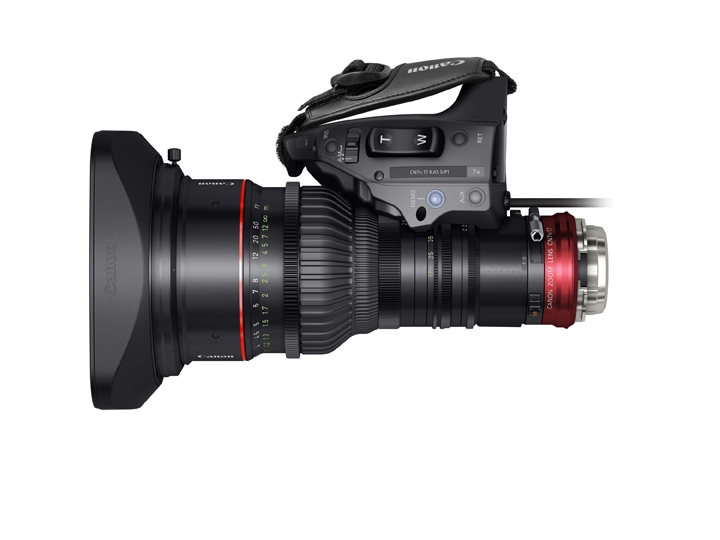Canon Cine-Servo ENG Cinema Zoom Top Grip