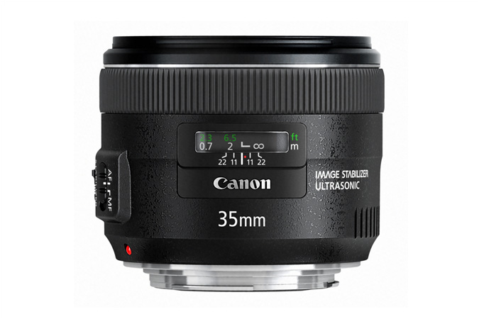 New Canon EF 35mm f/2 IS USM Prime Lens