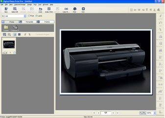 Digital Photo Print Pro Screen Shot