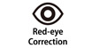 Red-Eye Correction : Automatically reduces instances of red-eye in an image (to be printed) resulting from using a flash.