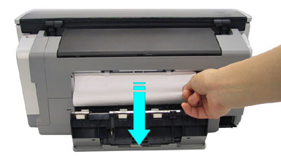 Pull out the cassette and check if the paper is jammed inside the ...