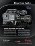 High Definition Electronic Cinematography lenses