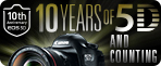 Learn more about the EOS 5D Series DSLR cameras as we recognize their 10 memorable years in the industry.