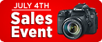 Check out these great savings on select Canon products