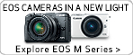 See the possibilities provided by the EOS M Series of digital cameras and EF-M Lenses