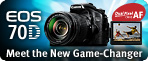 EOS 70D Meet the new game changer