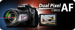 Unlock the full potential of Live View with the new Dual Pixel CMOS AF