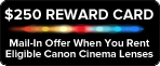 Cinema Lens Rental Reward Program