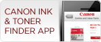 Canon Ink & Toner Finder App