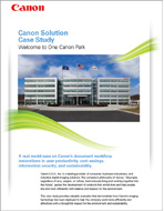 Welcome to One Canon Park Case Study