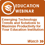 ADVANCED SOLUTIONS for Education Webinar