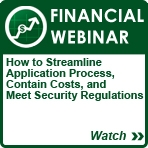 ADVANCED SOLUTIONS for Financial Webinar