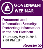 ADVANCED SOLUTIONS for Government Webinar