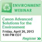 ADVANCED SOLUTIONS for Environment Webinar